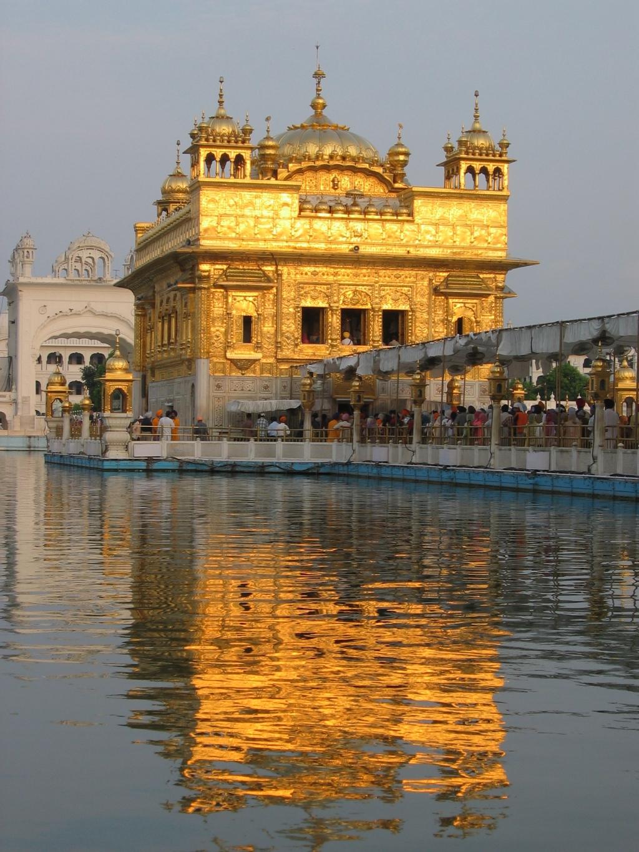 Ναός στο αμριτσάρ, ινδία